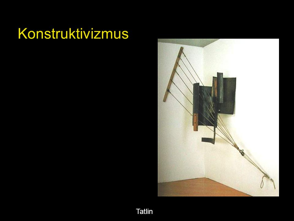 Konstruktivizmus Tatlin