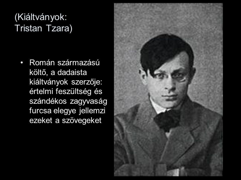 (Kiáltványok: Tristan Tzara)
