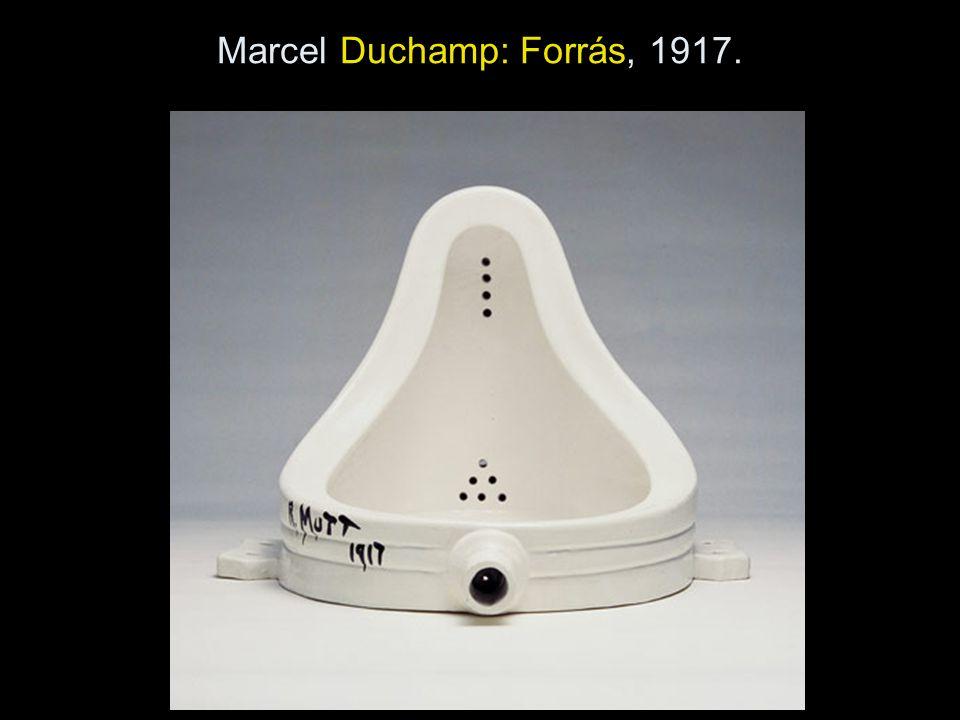 Marcel Duchamp: Forrás, 1917.