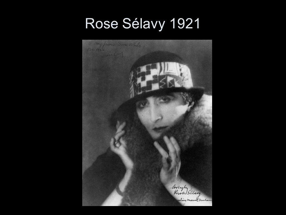 Rose Sélavy 1921