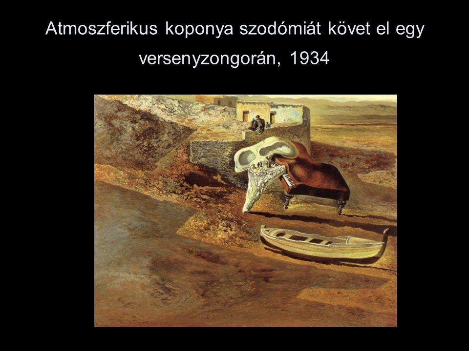Atmoszferikus koponya szodómiát követ el egy versenyzongorán, 1934