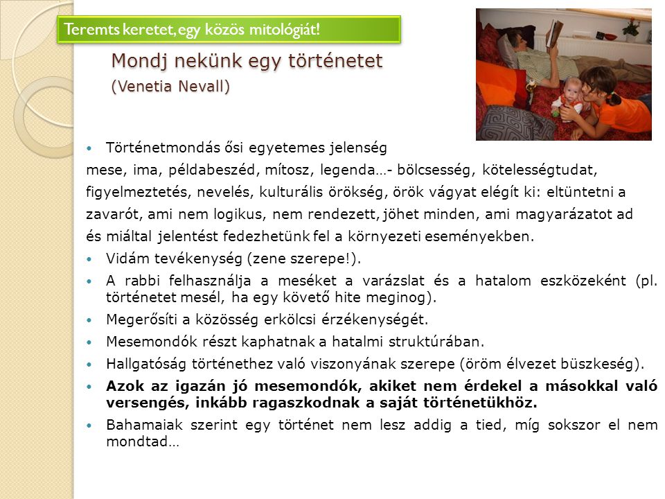 Mondj nekünk egy történetet (Venetia Nevall)