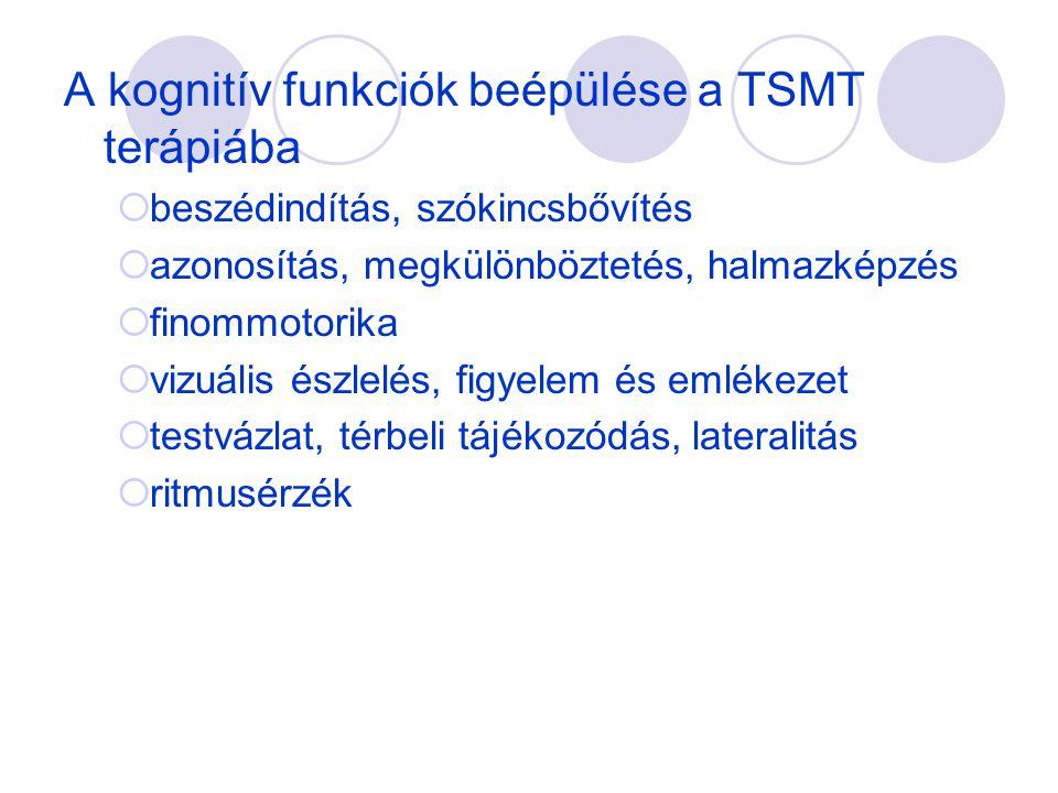 A kognitív funkciók beépülése a TSMT terápiába
