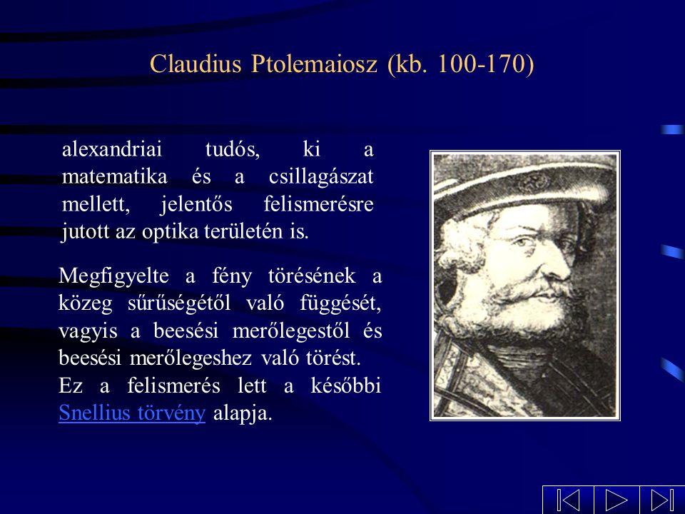 Claudius Ptolemaiosz (kb. 100-170)