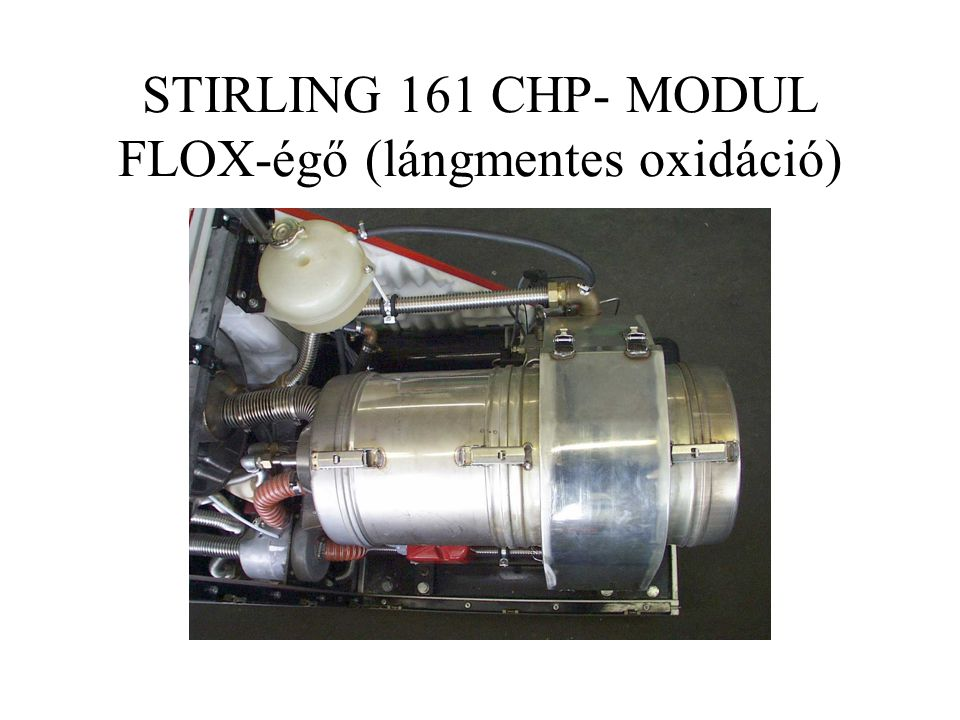 STIRLING 161 CHP- MODUL FLOX-égő (lángmentes oxidáció)