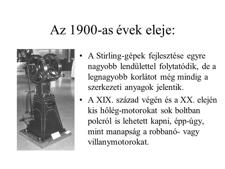 Az 1900-as évek eleje: