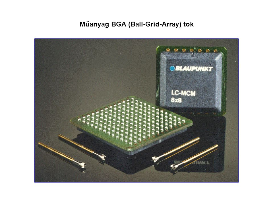 Műanyag BGA (Ball-Grid-Array) tok