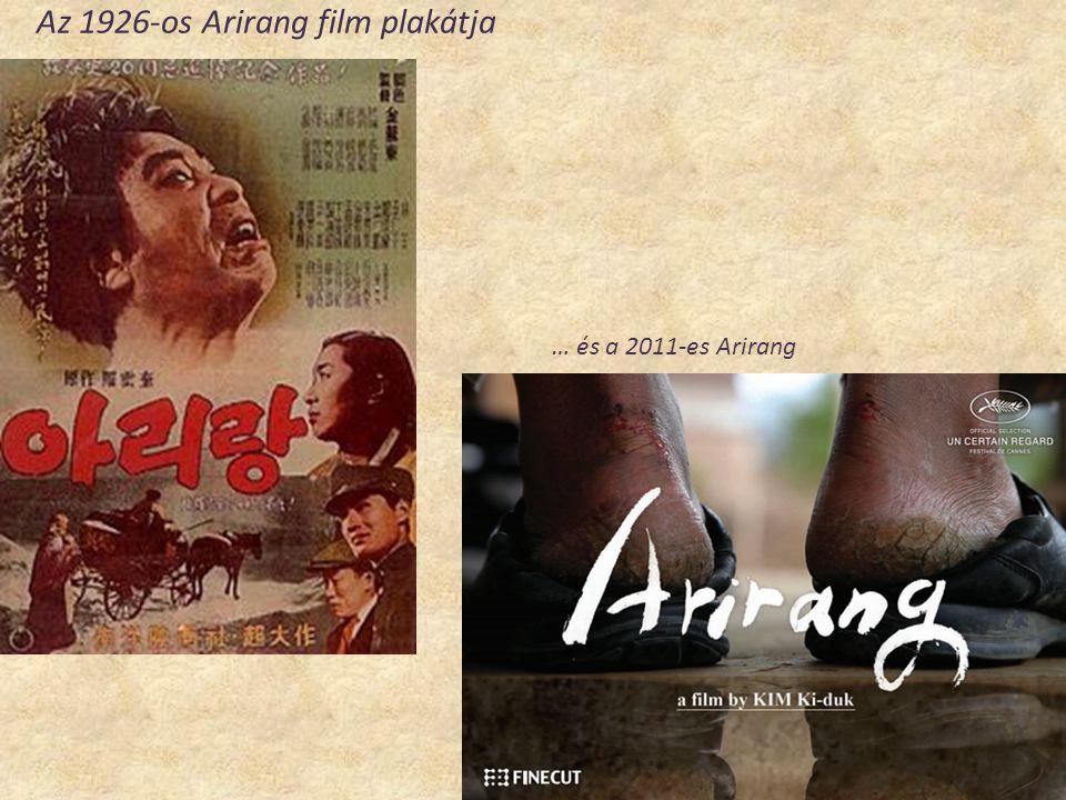 Az 1926-os Arirang film plakátja