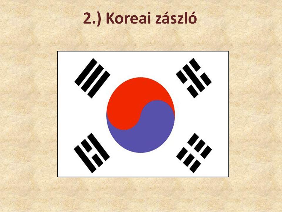 2.) Koreai zászló