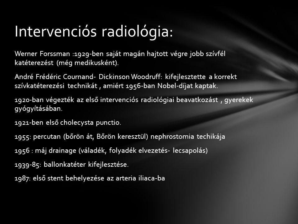 Intervenciós radiológia: