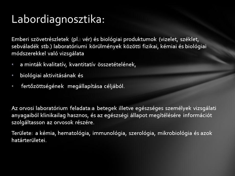 Labordiagnosztika: