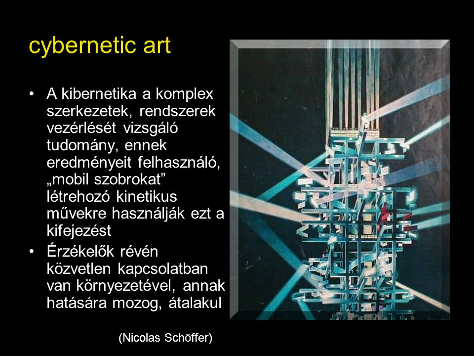 cybernetic art