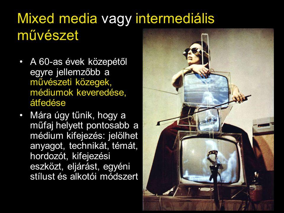 Mixed media vagy intermediális művészet