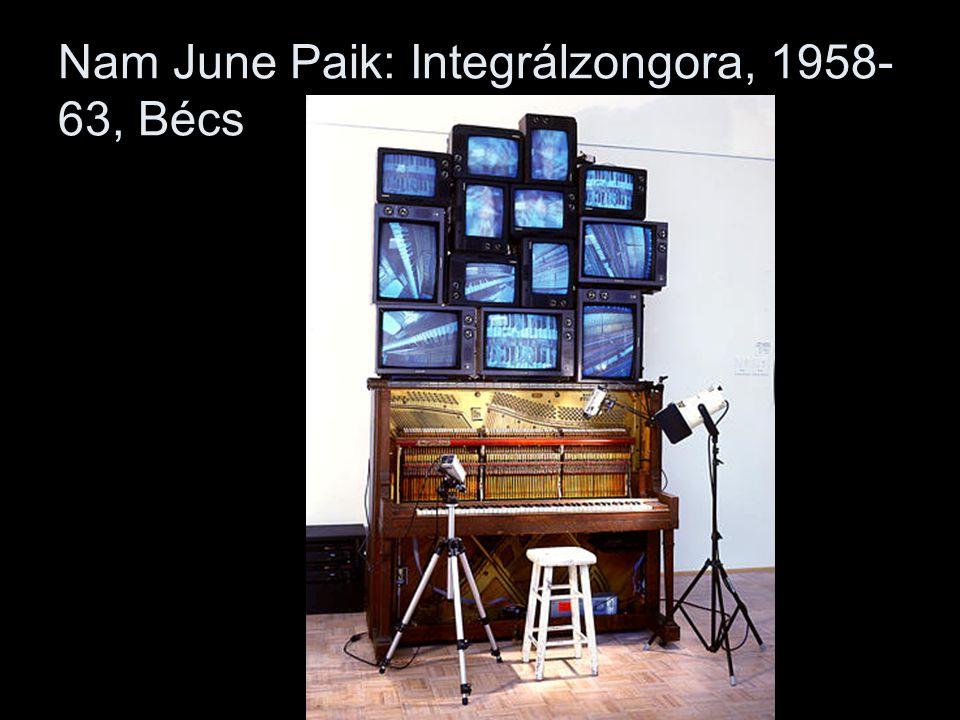 Nam June Paik: Integrálzongora, 1958-63, Bécs