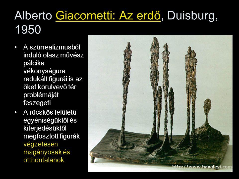 Alberto Giacometti: Az erdő, Duisburg, 1950