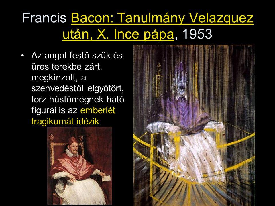Francis Bacon: Tanulmány Velazquez után, X. Ince pápa, 1953