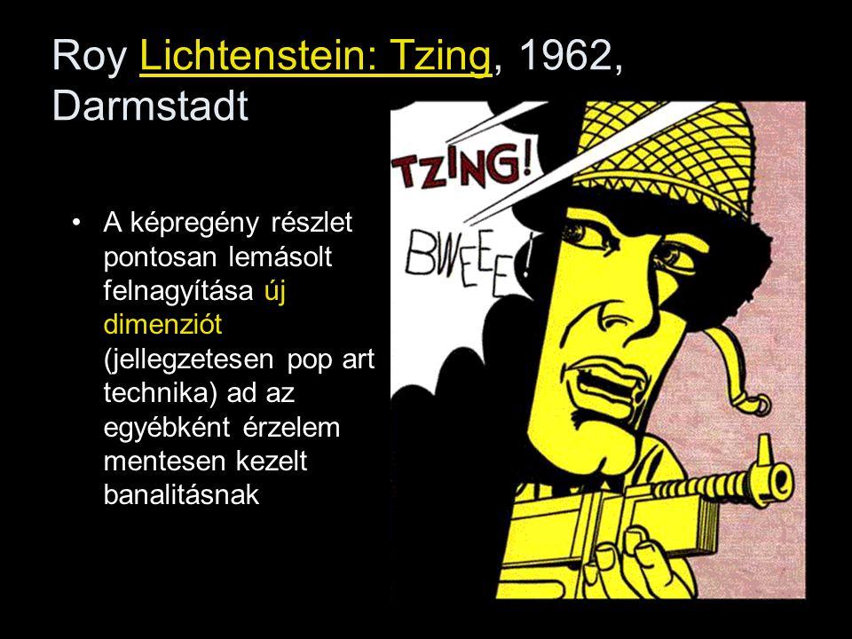 Roy Lichtenstein: Tzing, 1962, Darmstadt