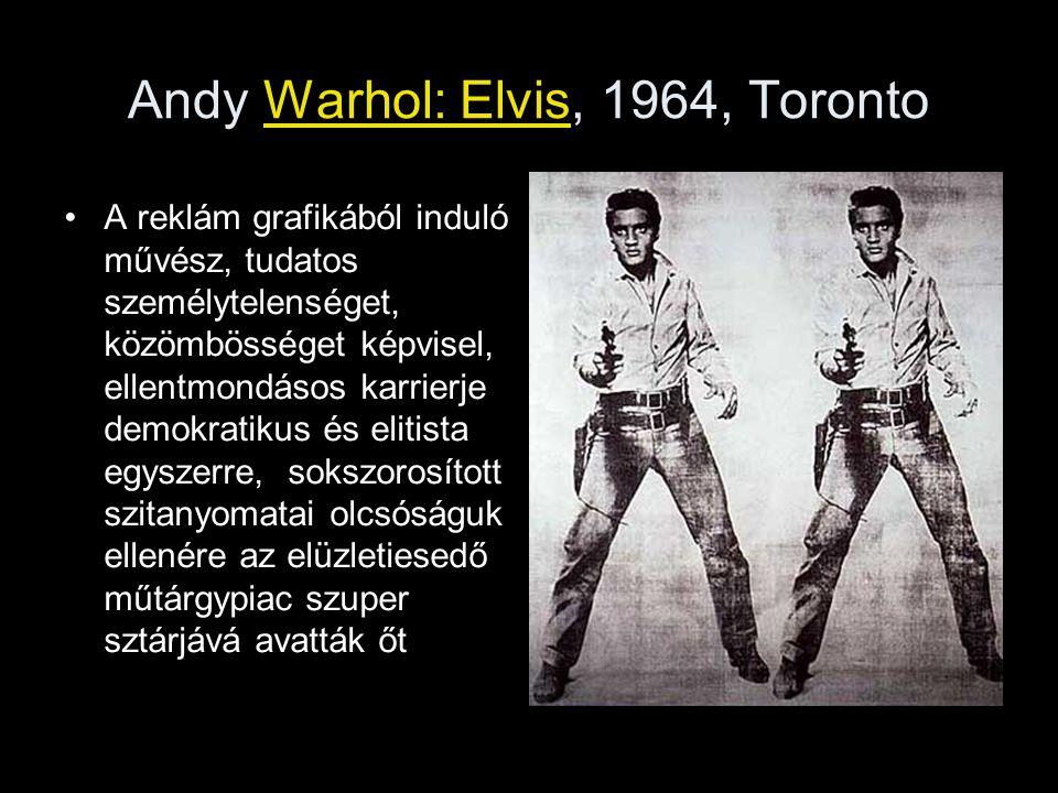Andy Warhol: Elvis, 1964, Toronto