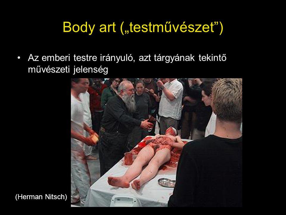 """Body art (""""testművészet )"""