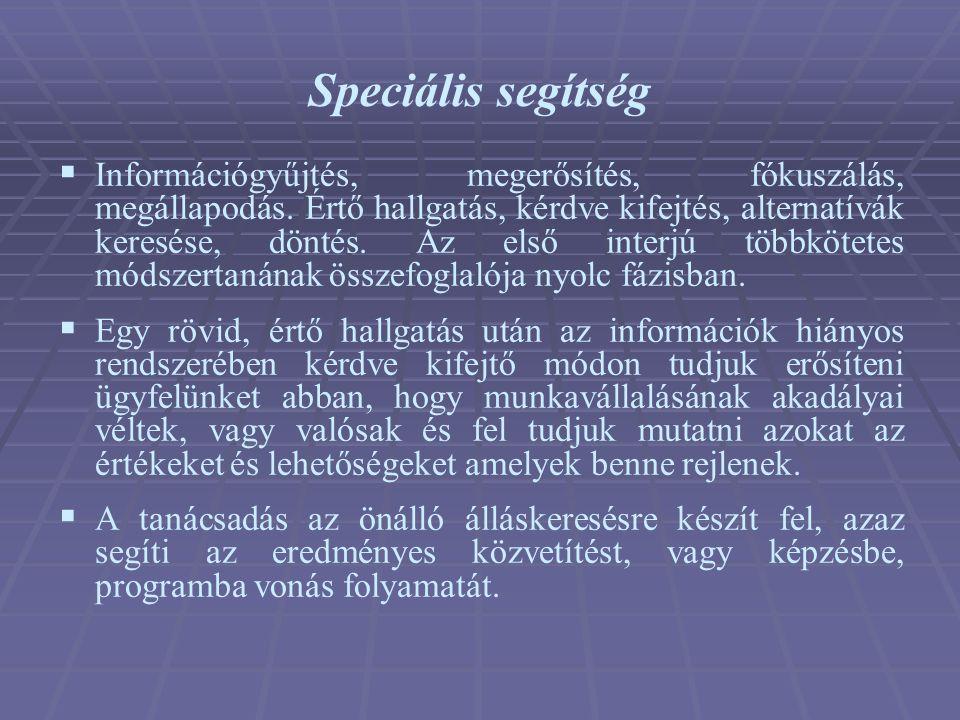 Speciális segítség