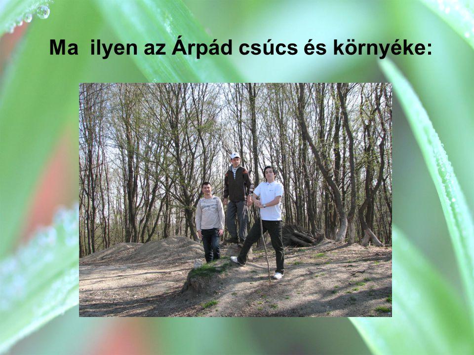 Ma ilyen az Árpád csúcs és környéke: