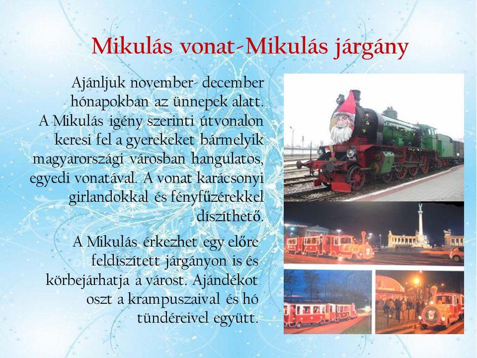 Mikulás vonat-Mikulás járgány