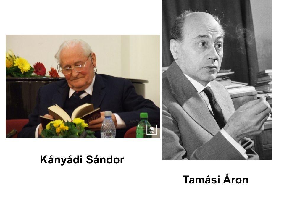 Kányádi Sándor Tamási Áron