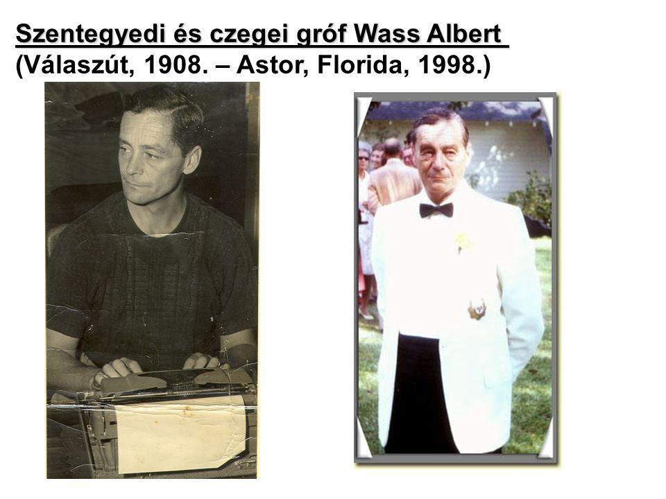 Szentegyedi és czegei gróf Wass Albert