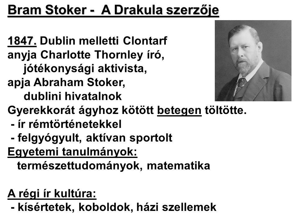 Bram Stoker - A Drakula szerzője