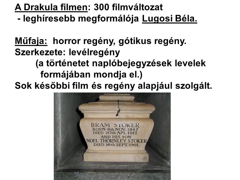 A Drakula filmen: 300 filmváltozat