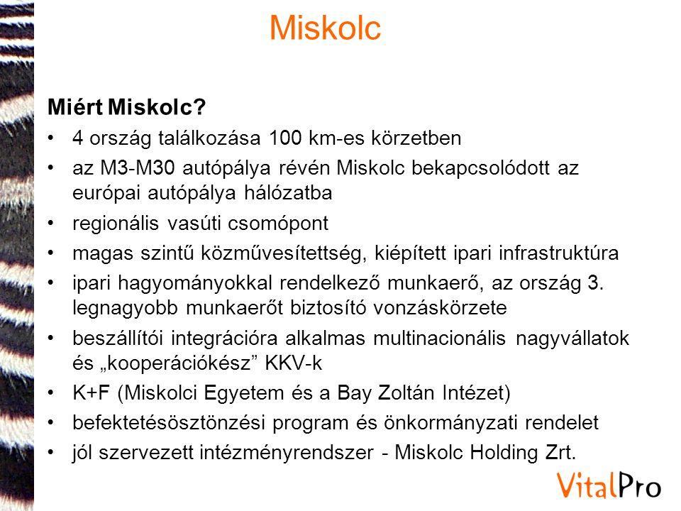 Miskolc Miért Miskolc 4 ország találkozása 100 km-es körzetben
