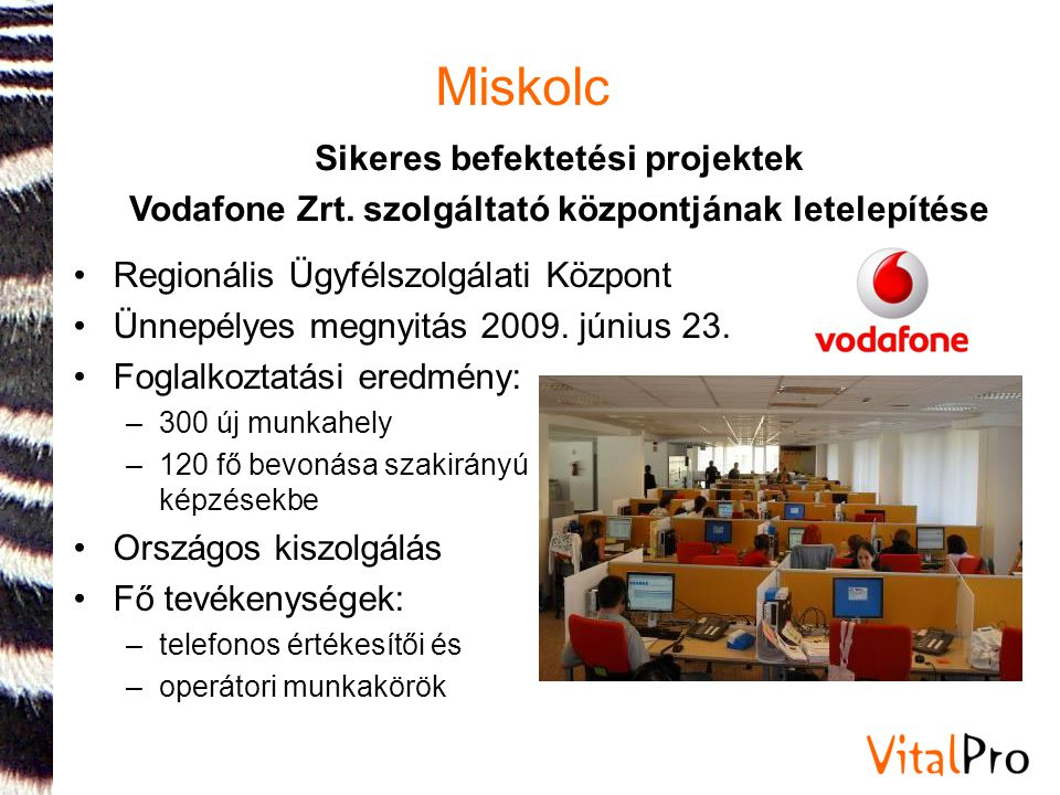 Miskolc Sikeres befektetési projektek