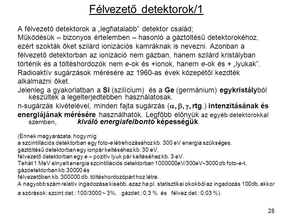 Félvezető detektorok/1