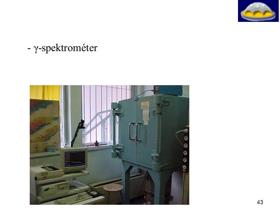 - γ-spektrométer