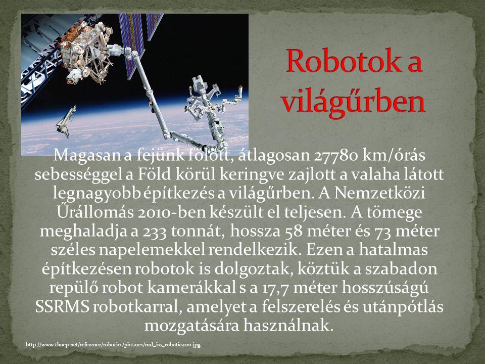 Robotok a világűrben