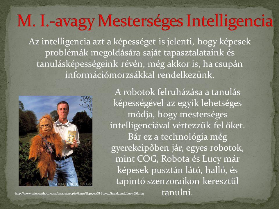 M. I.-avagy Mesterséges Intelligencia