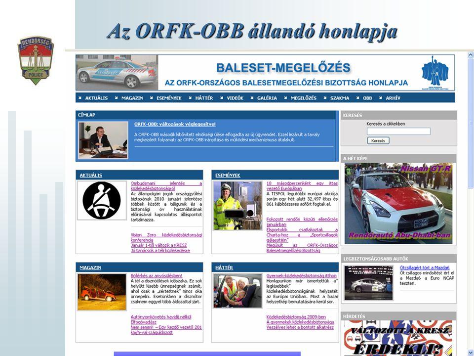 Az ORFK-OBB állandó honlapja