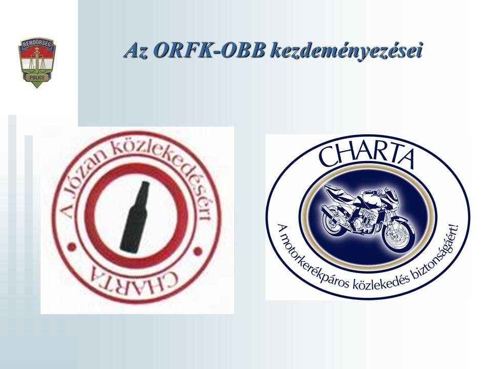 Az ORFK-OBB kezdeményezései