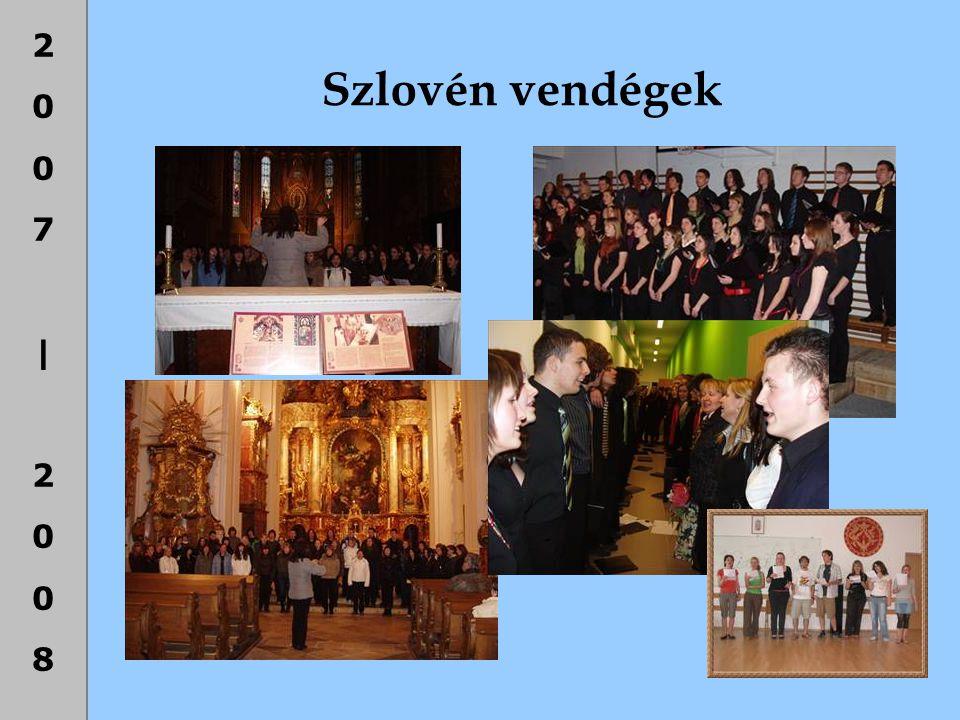 Szlovén vendégek