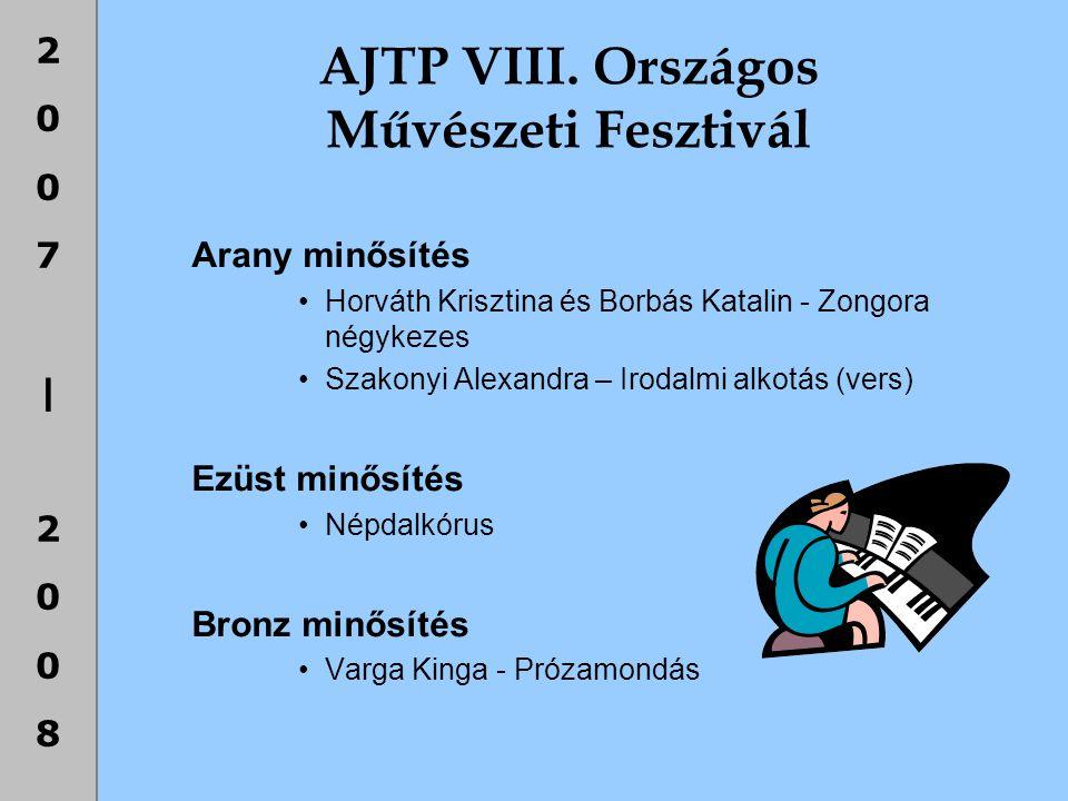 AJTP VIII. Országos Művészeti Fesztivál