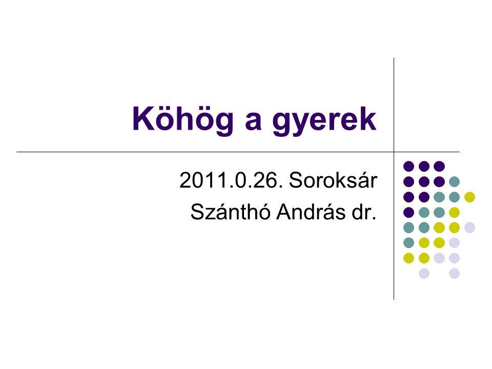 2011.0.26. Soroksár Szánthó András dr.
