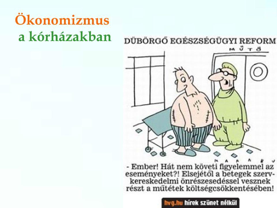 Ökonomizmus a kórházakban