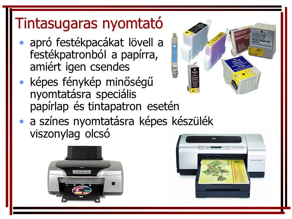 Tintasugaras nyomtató