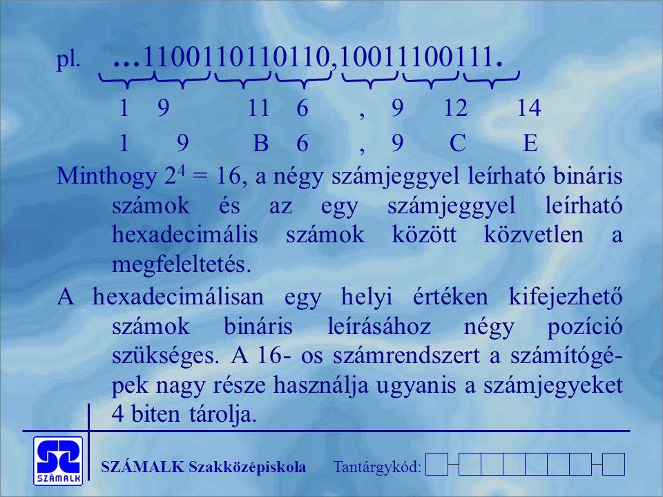 pl. …1100110110110,10011100111. 1 9 11 6 , 9 12 14. 1 9 B 6 , 9 C E.