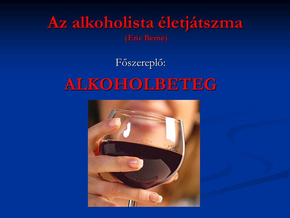 Az alkoholista életjátszma (Eric Berne)