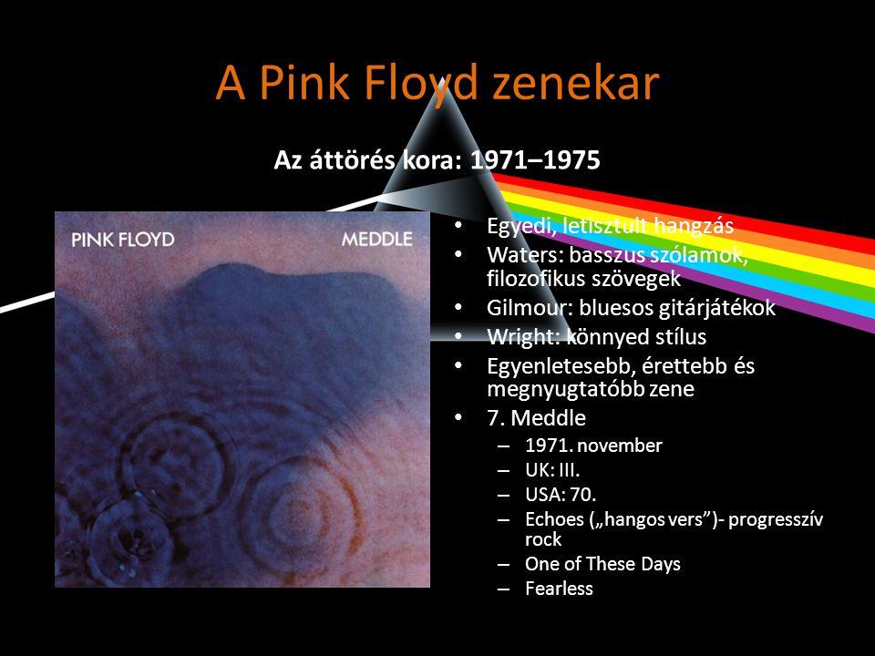 A Pink Floyd zenekar Az áttörés kora: 1971–1975