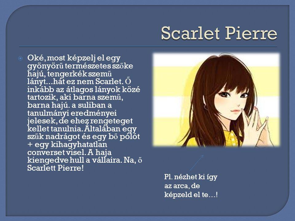 Scarlet Pierre