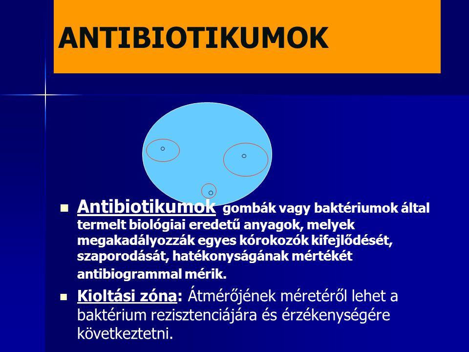 ANTIBIOTIKUMOK