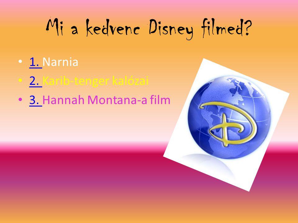 Mi a kedvenc Disney filmed