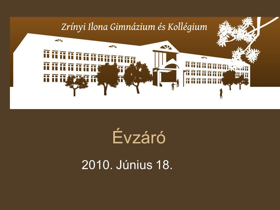 Évzáró 2010. Június 18.